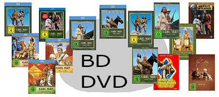 DVDs, Blu-rays (BDs)